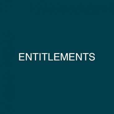 Services – Entitlements